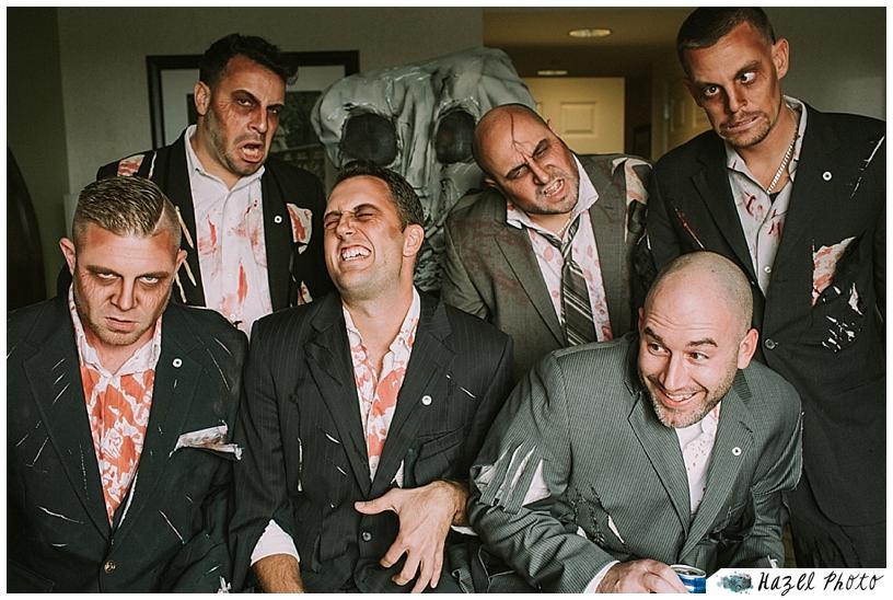 zombie wedding snug harbor hazel photo weddings