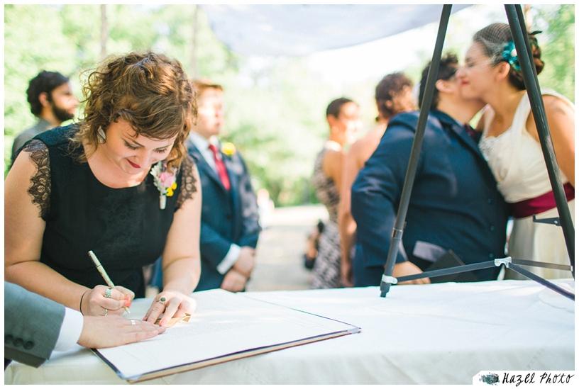Queer wedding san francisco LGBT Oakland wedding ketubah