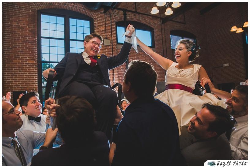Queer wedding san francisco LGBT Oakland wedding hora