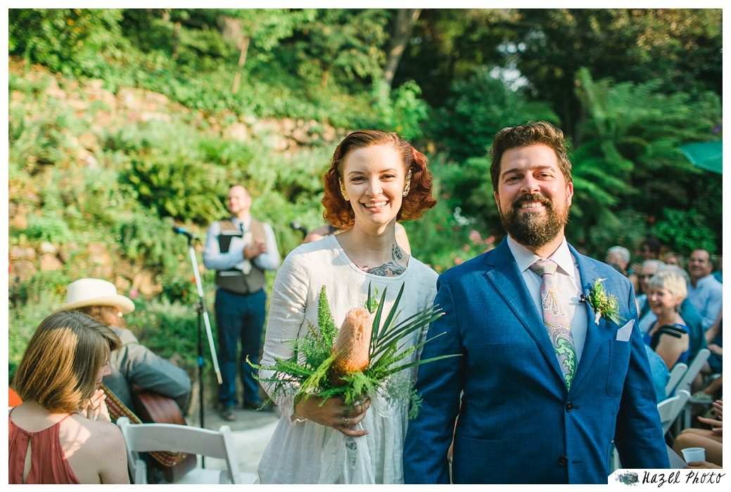 Temescal Beach House Wedding