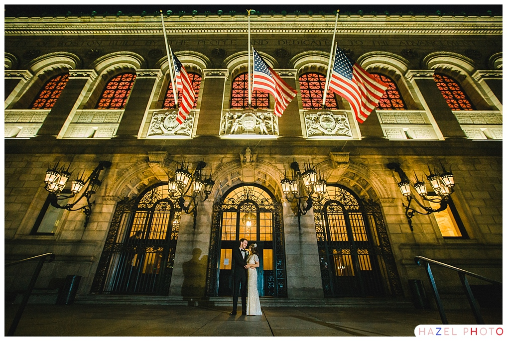 Boston Public Library Wedding.Boston Public Library Wedding Alexandra Eric Paul