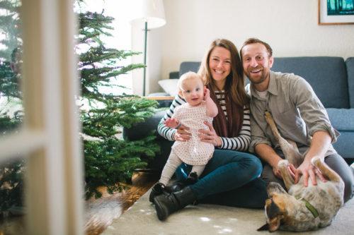 Christmas family photos San Francisco