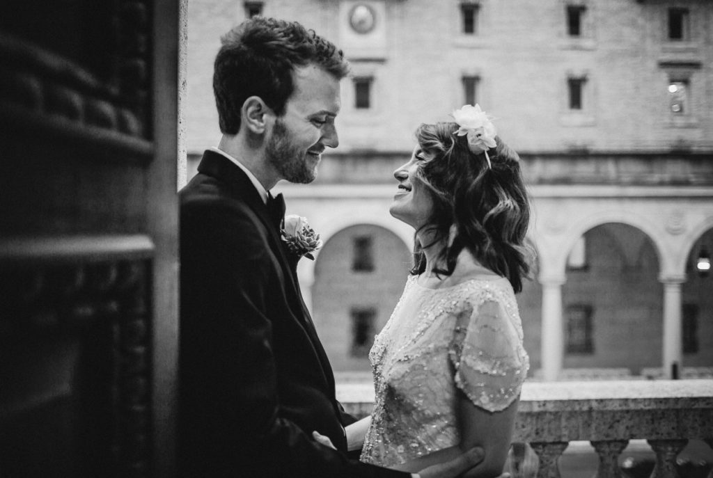 San Francisco Wedding Photographer Paul Gargagliano Bride and Groom at the library