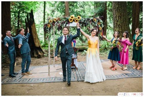 Camp Navarro Wedding Mendocino