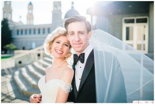 St. Ignatius Wedding Photos San Francisco