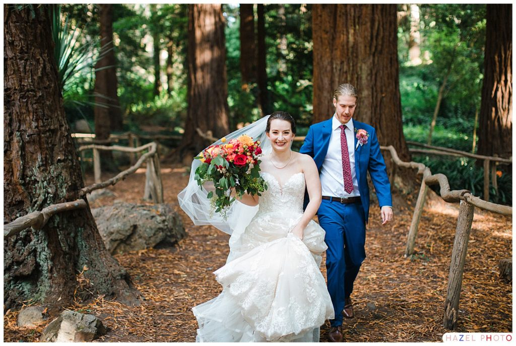 Sigmund Stern Grove Wedding Bride and groom portraits