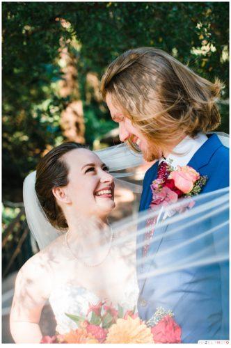 Sigmund Stern Grove Wedding Bride and groom portraits