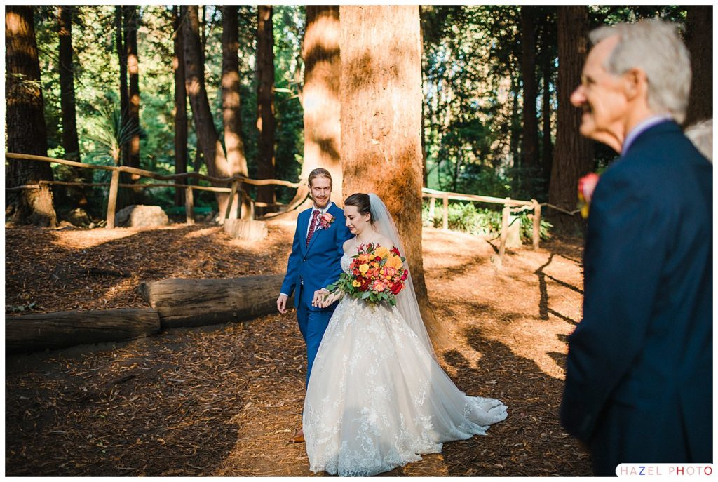 San Francisco redwood grove wedding