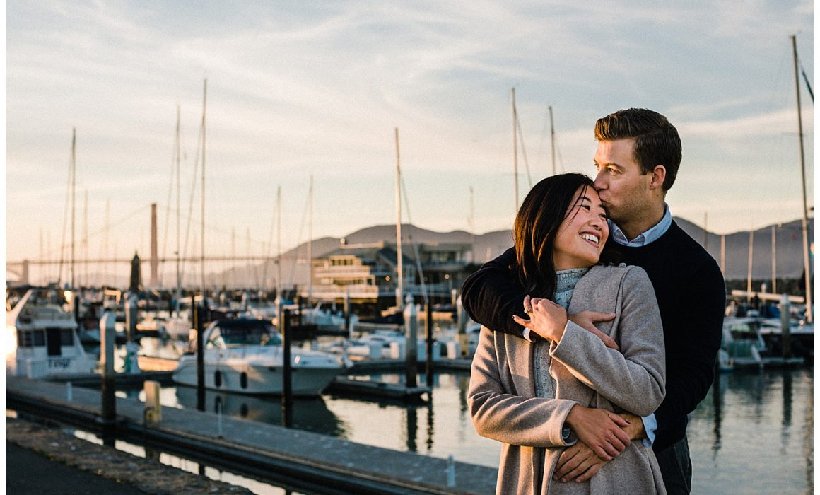 Pacific Heights Engagement Photos